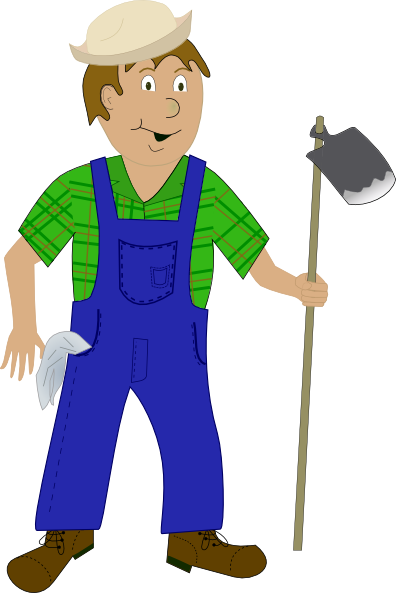 Farming clipart small farm. Farmer clip art at