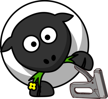 Farming clipart wool. Sheep goat drawing free