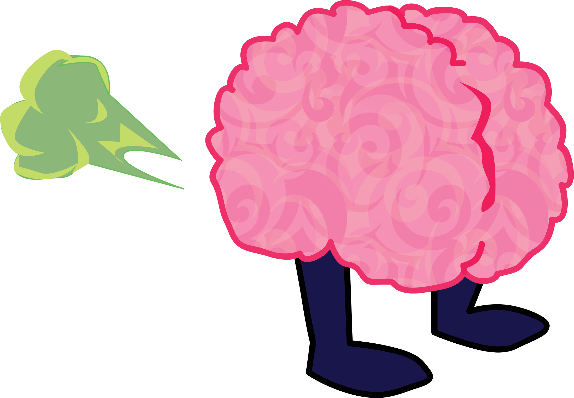brain cartoon png