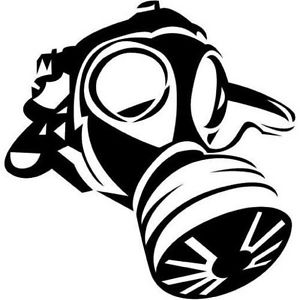 Fart clipart gas mask. Car van funny smelly
