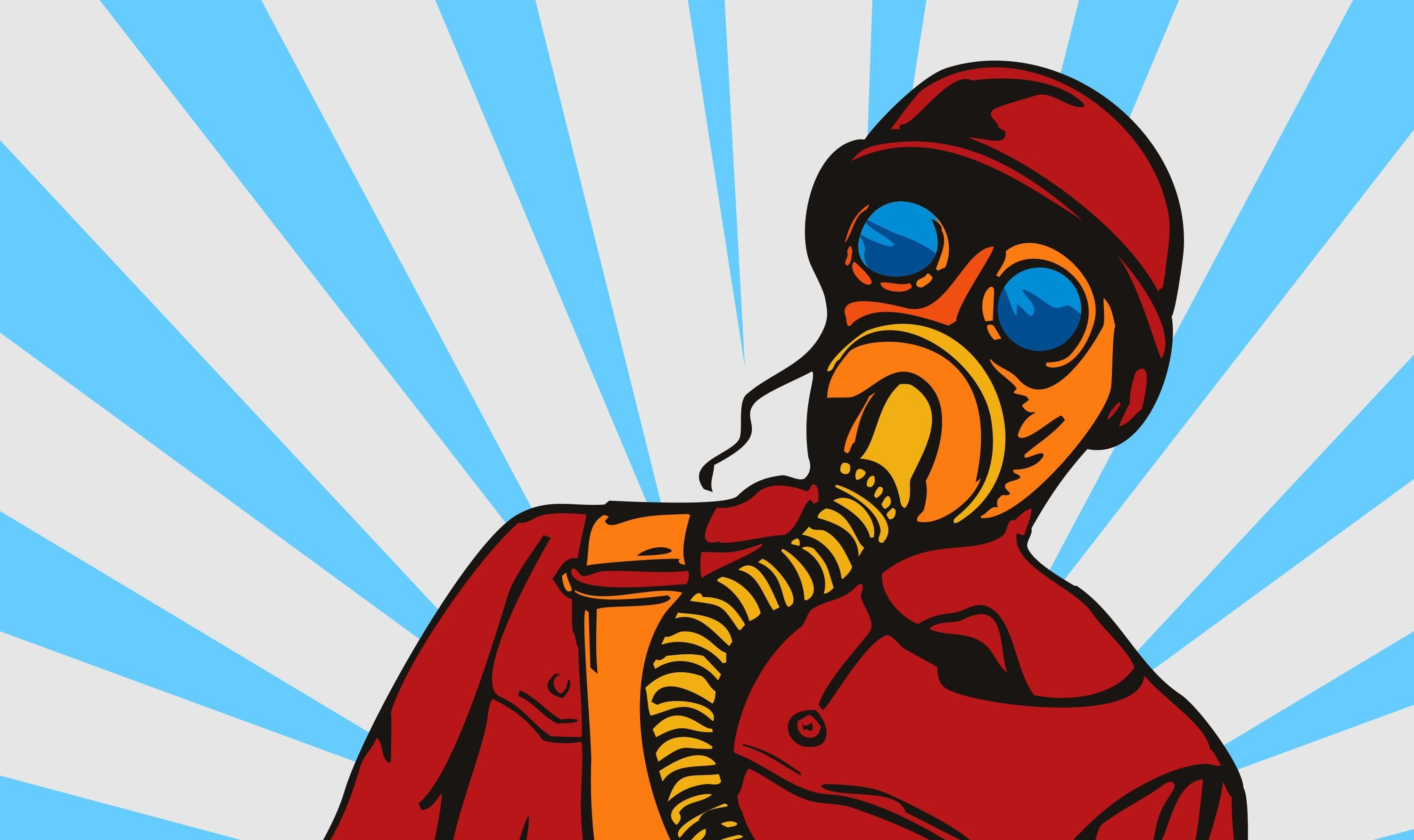 Fart clipart gas mask. What is spirit farting