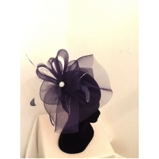 Fascinator clip simple. Outrageous fascinators weddings race