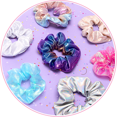 Fascinator clip lilac. Hair accessories claire s