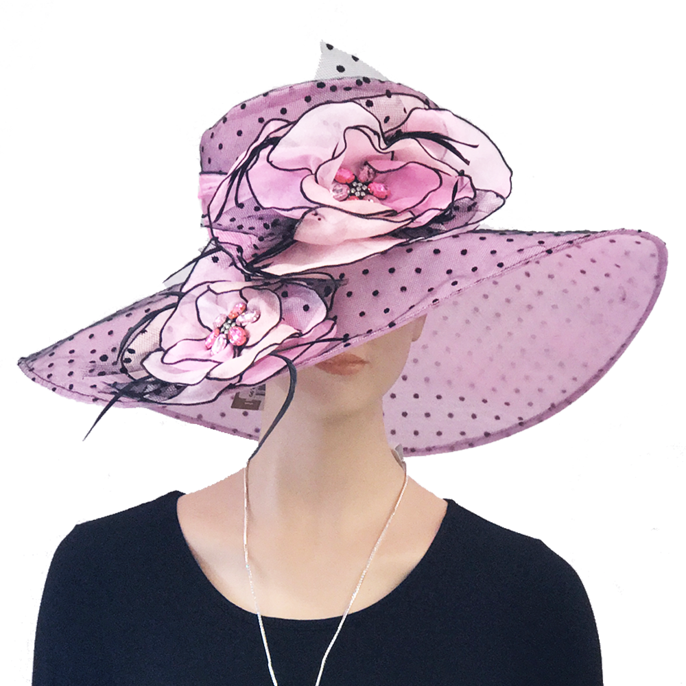 Fascinator clip lilac. Trees n trends has