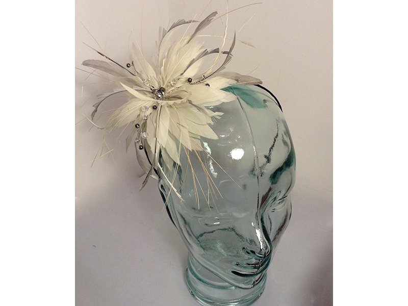 Fascinator clip small. Very mother of the