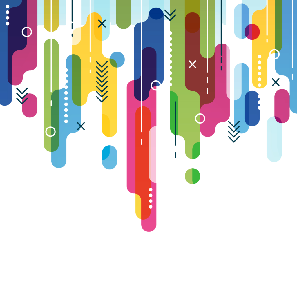 Colorful vector clipart psd. Fashion abstract background png picture library download