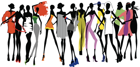 Image vector clipart psd. Fashion background png image transparent download