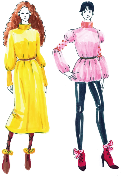 Fashion clipart fashion drawing. Design illustration model chanel