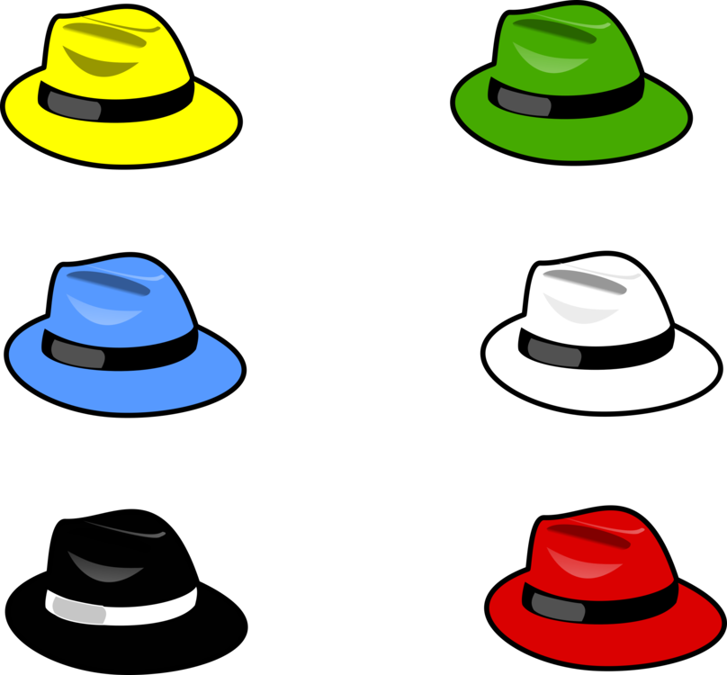Fashion clipart cap. Six thinking hats top