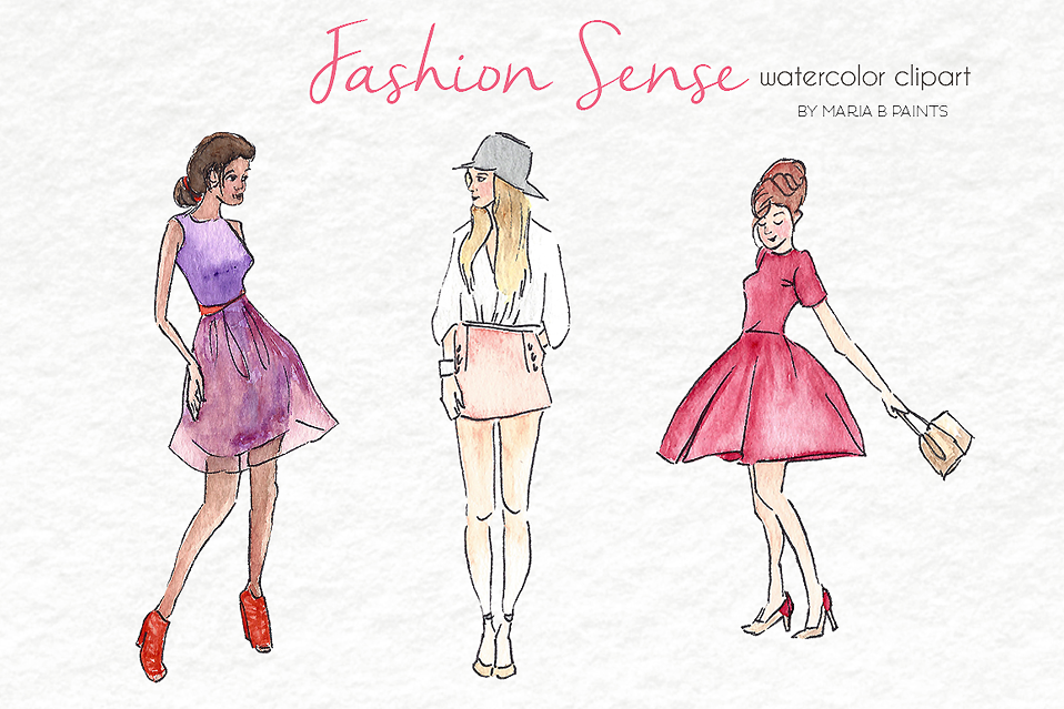 fashion clipart costume designer