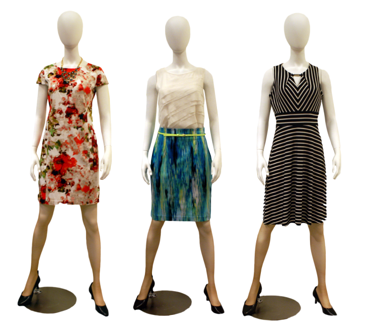 Mannequin with clothes png. Professional semi casual to