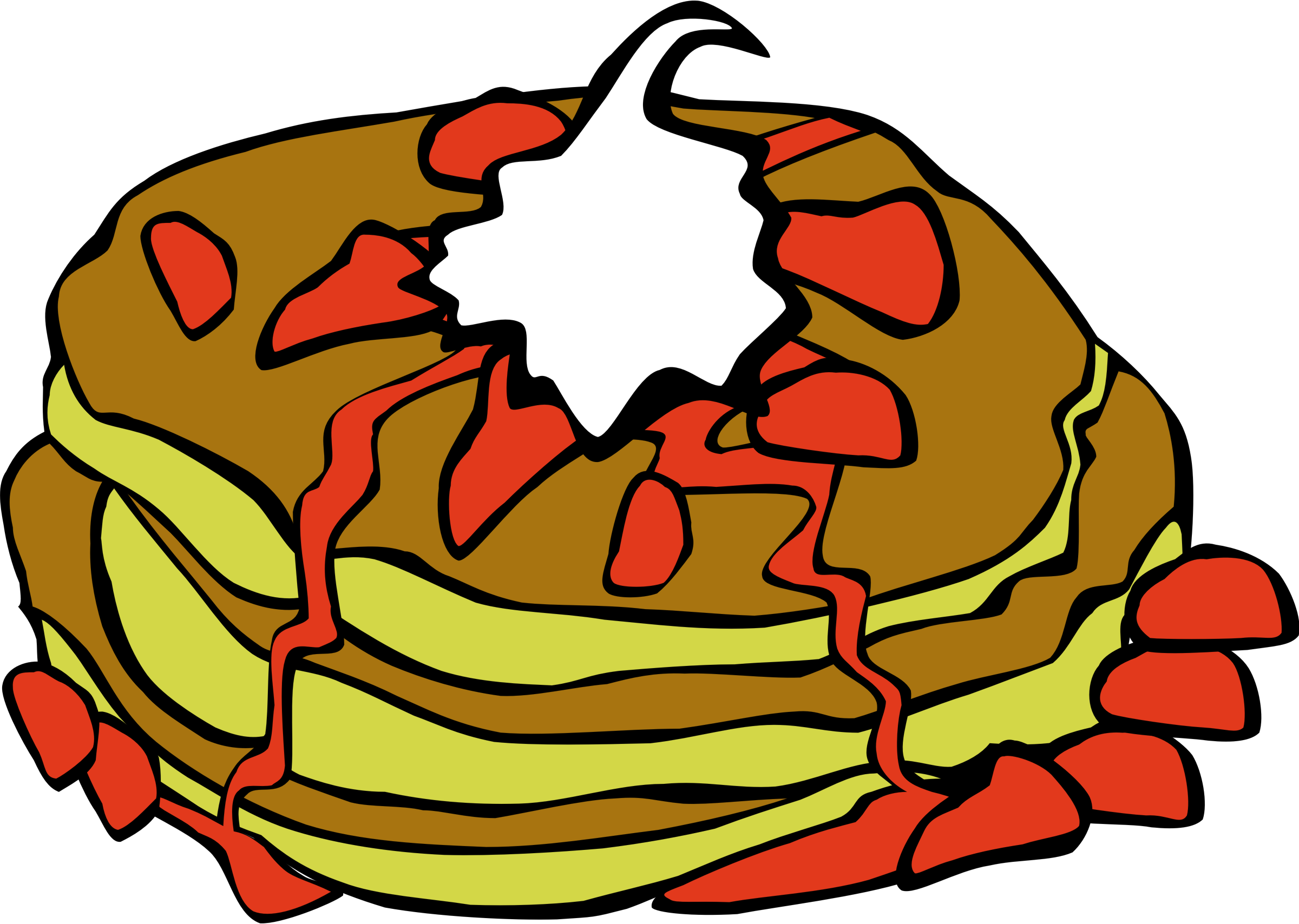 Fast food pancakes image. Pancake clipart big breakfast graphic freeuse