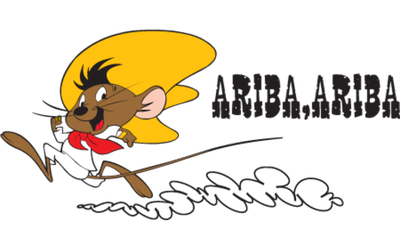 Fast clipart speedy gonzales. Discovering me ariba