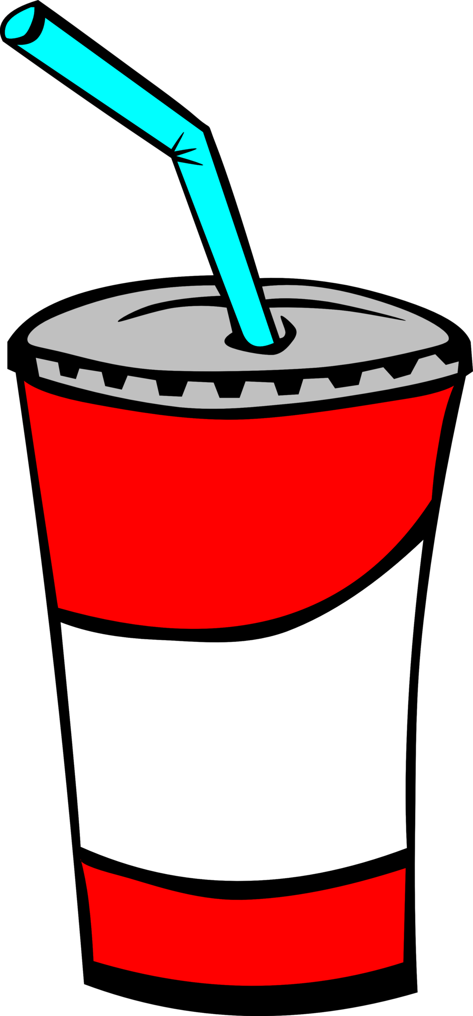 Fast food cup png. Public domain clip art