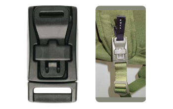 Fastener clip buckles. Military accessories m italia
