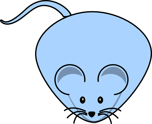 Fat clipart bug. Blue male mouse clip