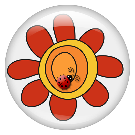 Fat clipart bug. Co ladybug botton png