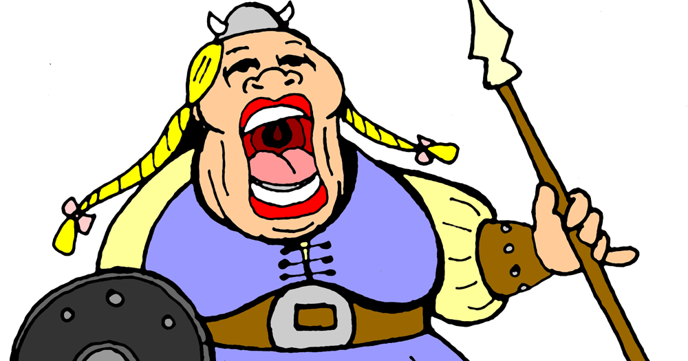 Fat clipart fat lady. On the light side