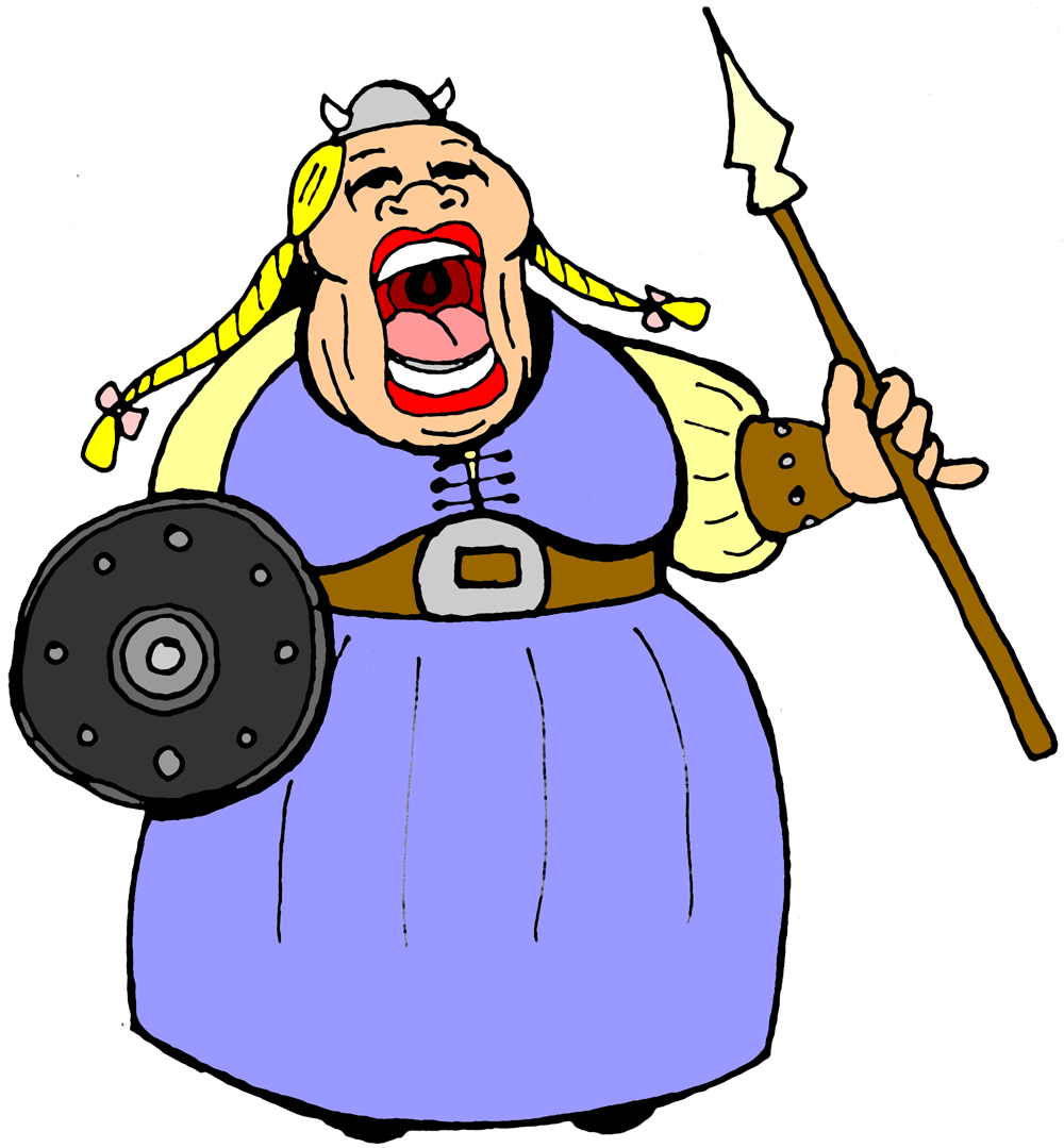 Fat clipart fat scale. Cartoon lady group with