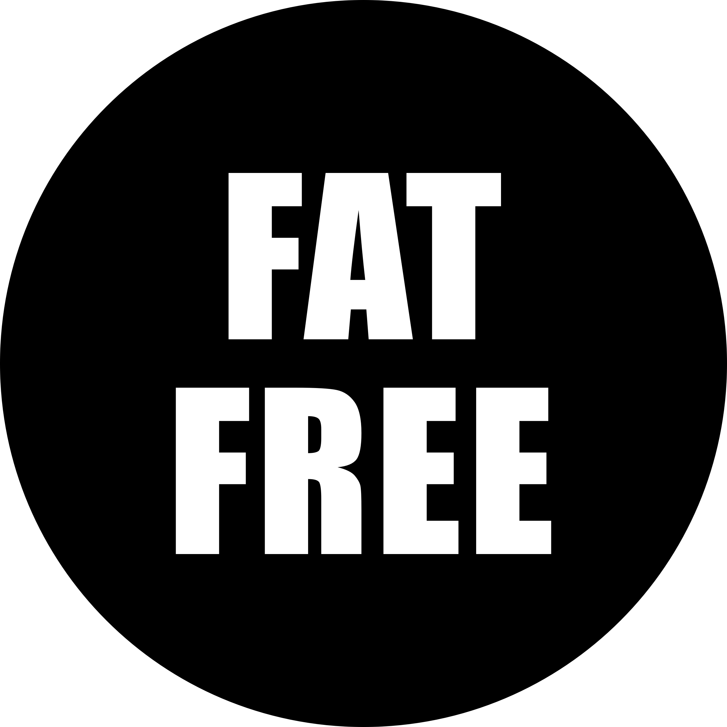 Fat clipart healthy thing. Free icon black big
