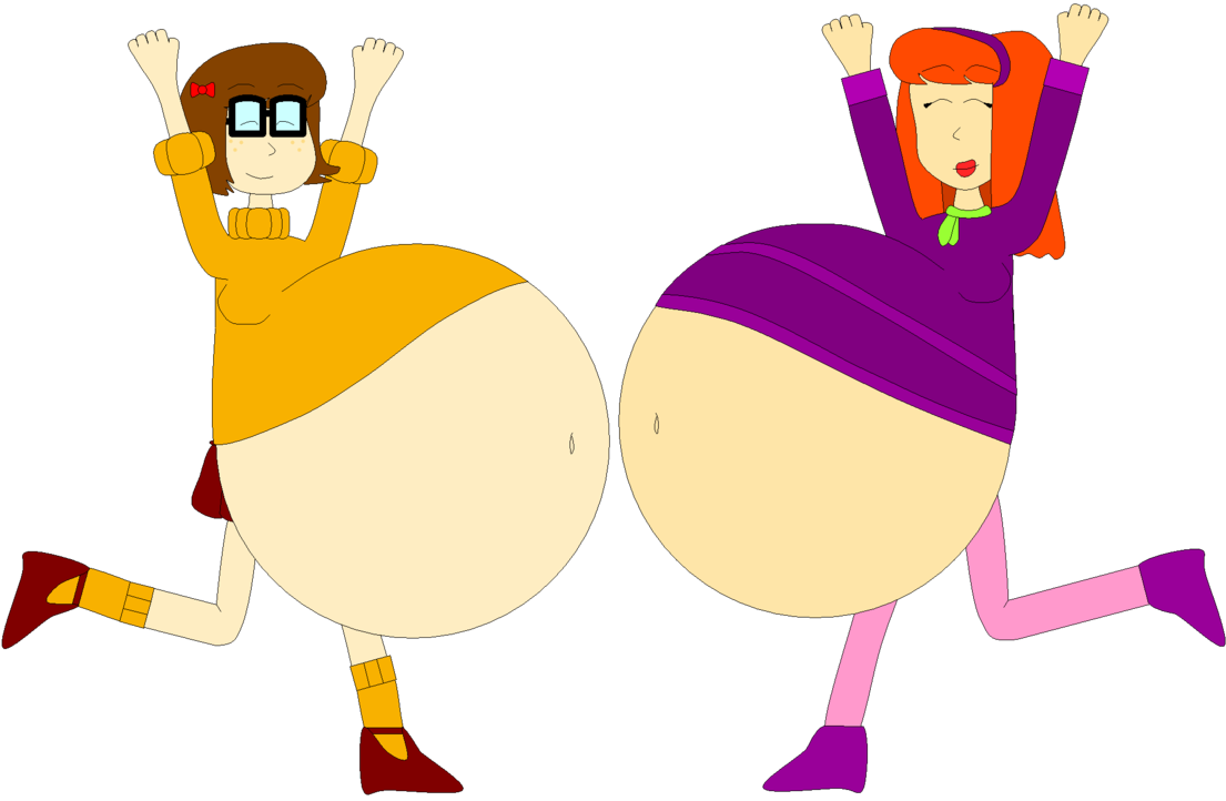Fat girl png. Velma and daphne s