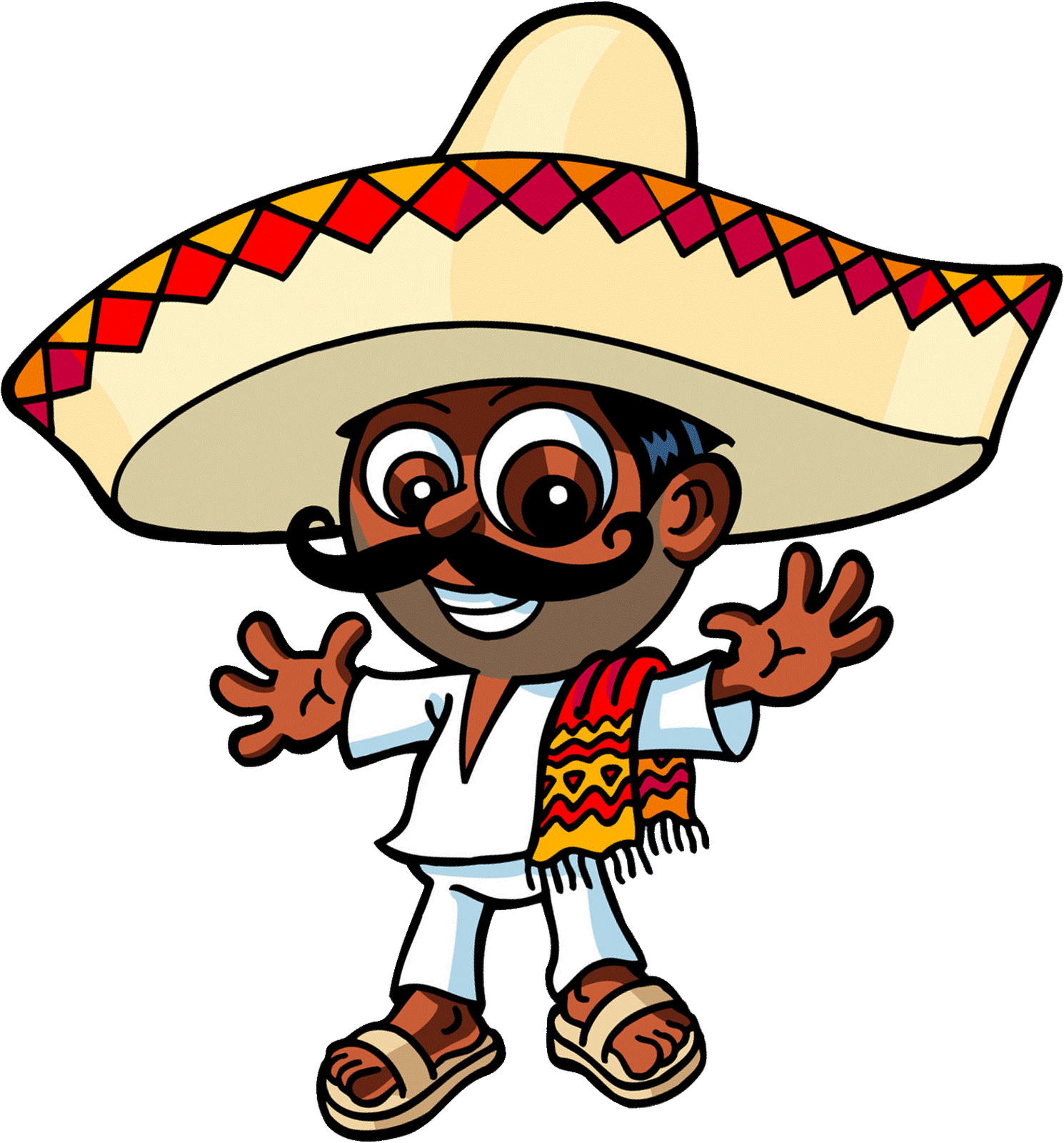 Fat mexican png. Brain interactive spring