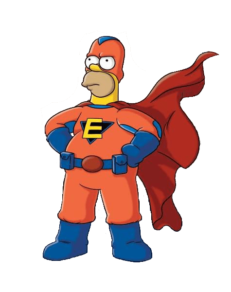 fat superhero png