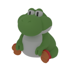 Big chungus clipart fat yoshi. Tumblr my take on
