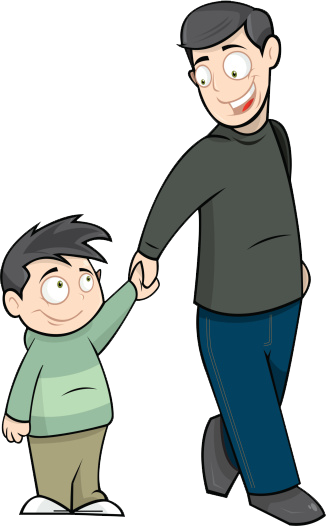 Father clipart. S day fathers clip