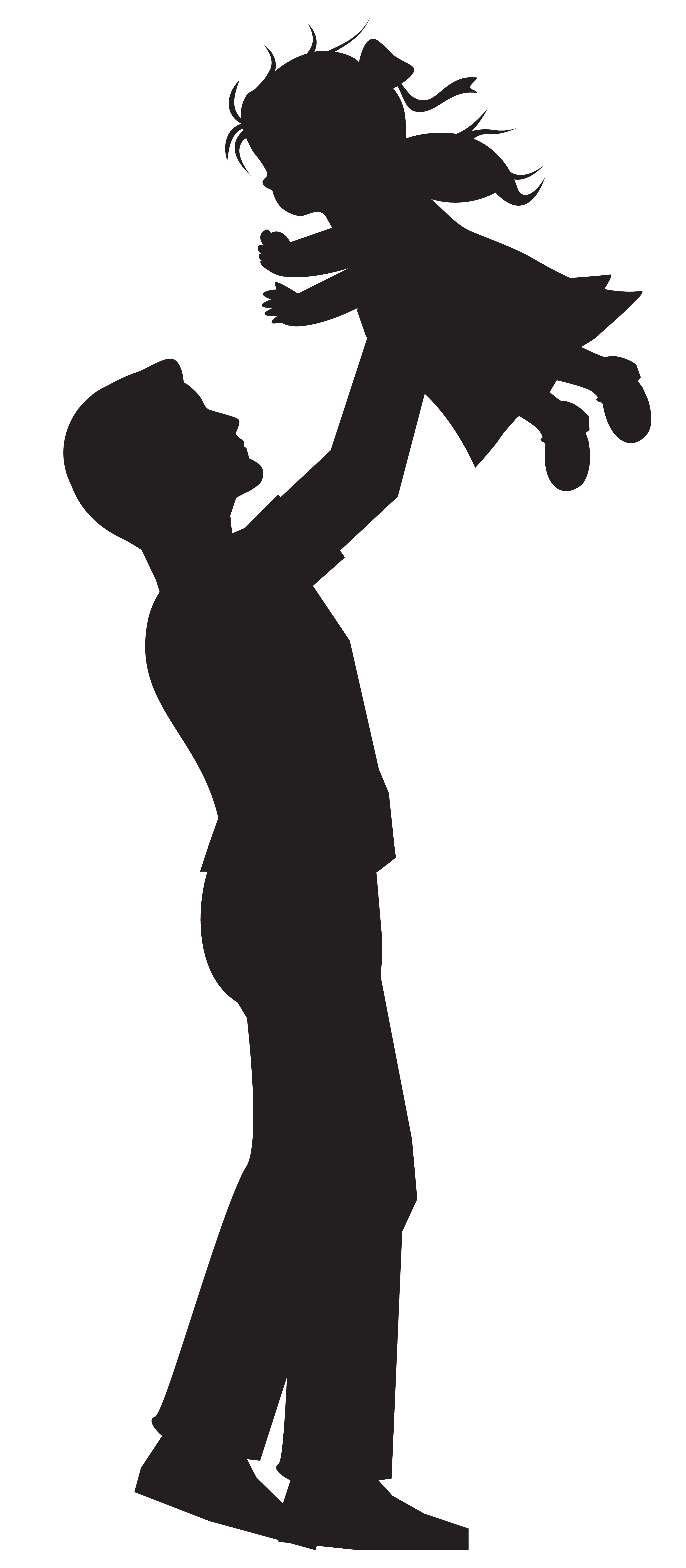 Father clipart basketball. And daughter silhouette clip