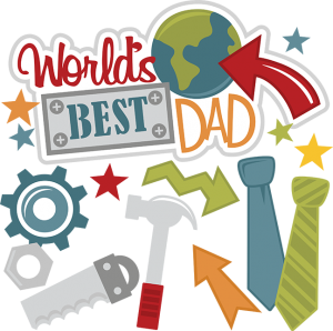 Father clipart far. World s best dad