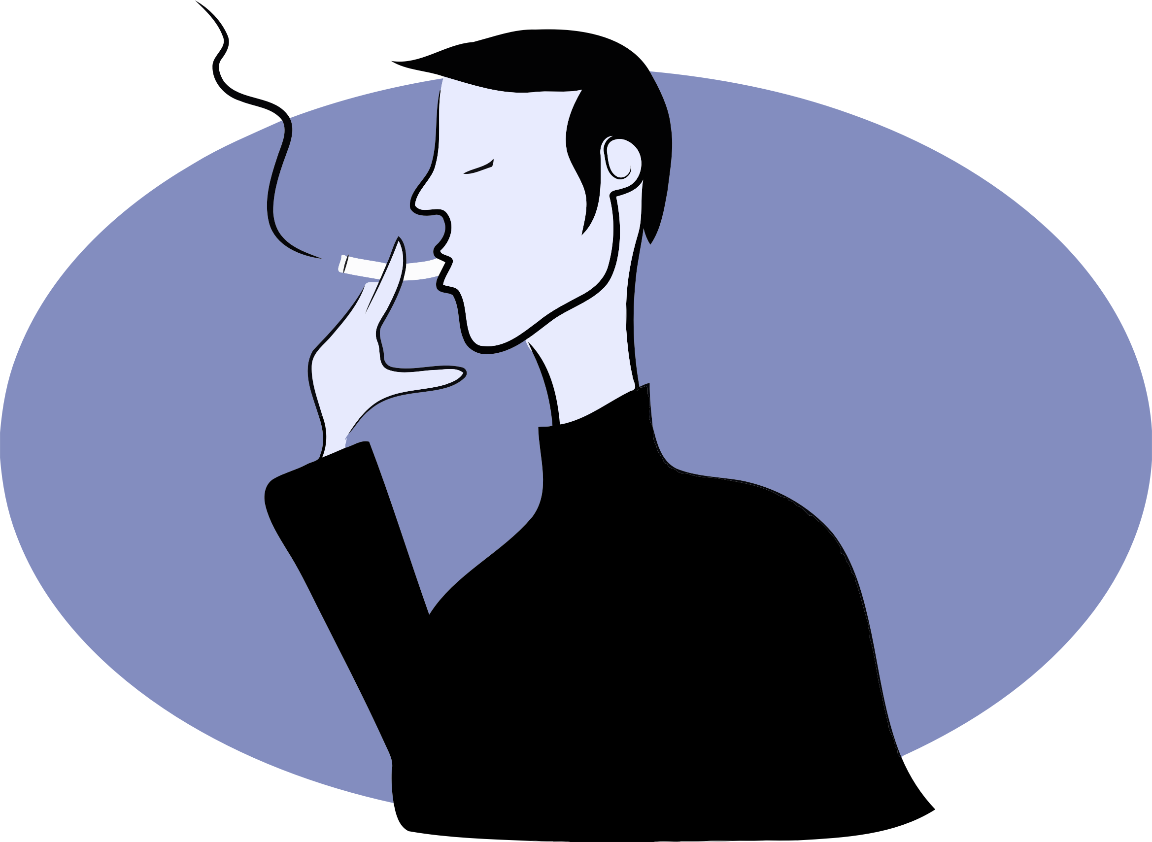 Father clipart far. S nicotine exposure may