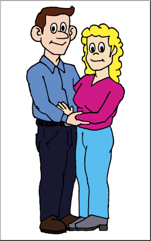 Parents clipart mom dad. Mother and father at