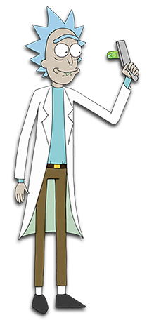 Father clipart whole body. Rick sanchez and morty