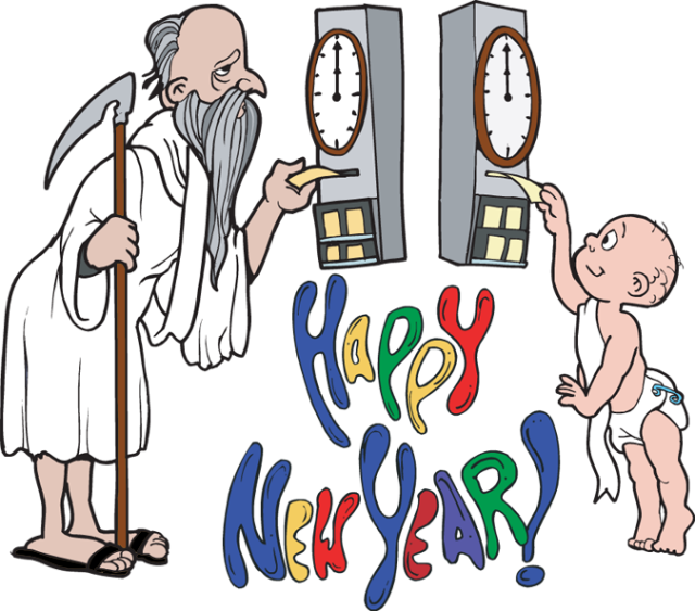 Father time png. New year clip art
