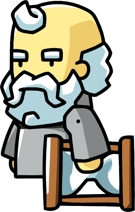Father time png. Image scribblenauts wiki fandom