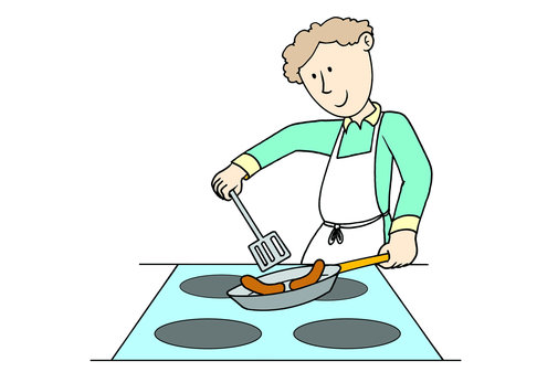 Fathers clipart cooking. Learnenglish kids british council