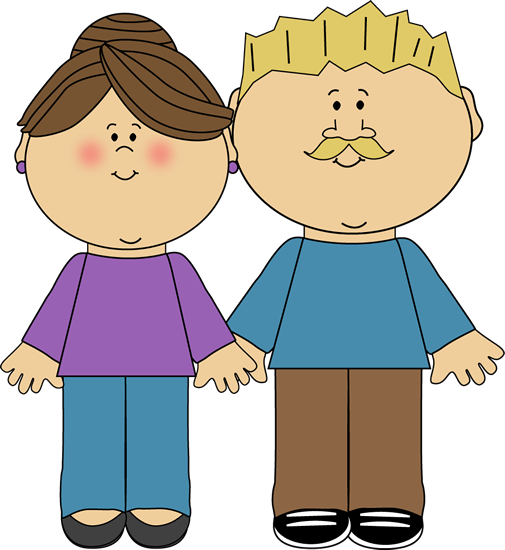 Parent clipart wife. Parents clip art image