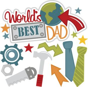 Fathers clipart good dad. Best parents mixed