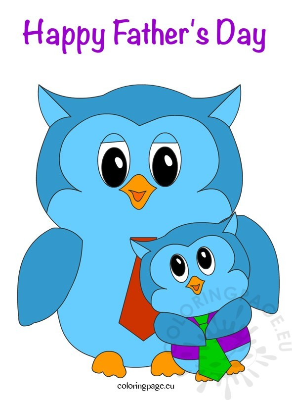 Fathers clipart owl. Father s day owls