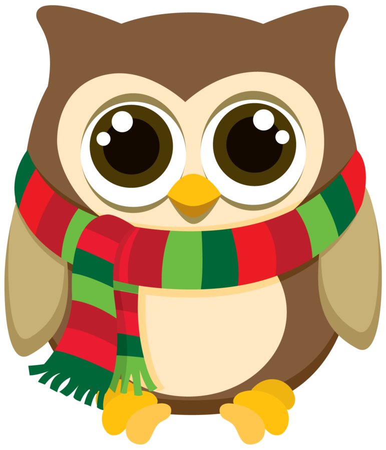 Fathers clipart owl. Minus say hello clip