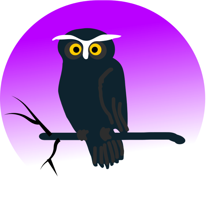 Surprised clipart owl. Animated images vector graphics