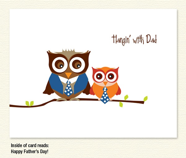 Fathers clipart owl. Hangin with dad owls