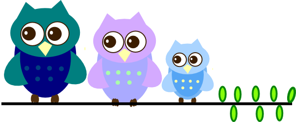 Fathers clipart owl. Family clip art at
