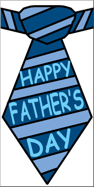 Fathers clipart tie. Clip art happy father