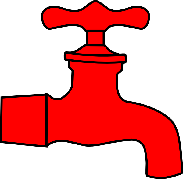 Faucet clipart water spout. Free cliparts vector download