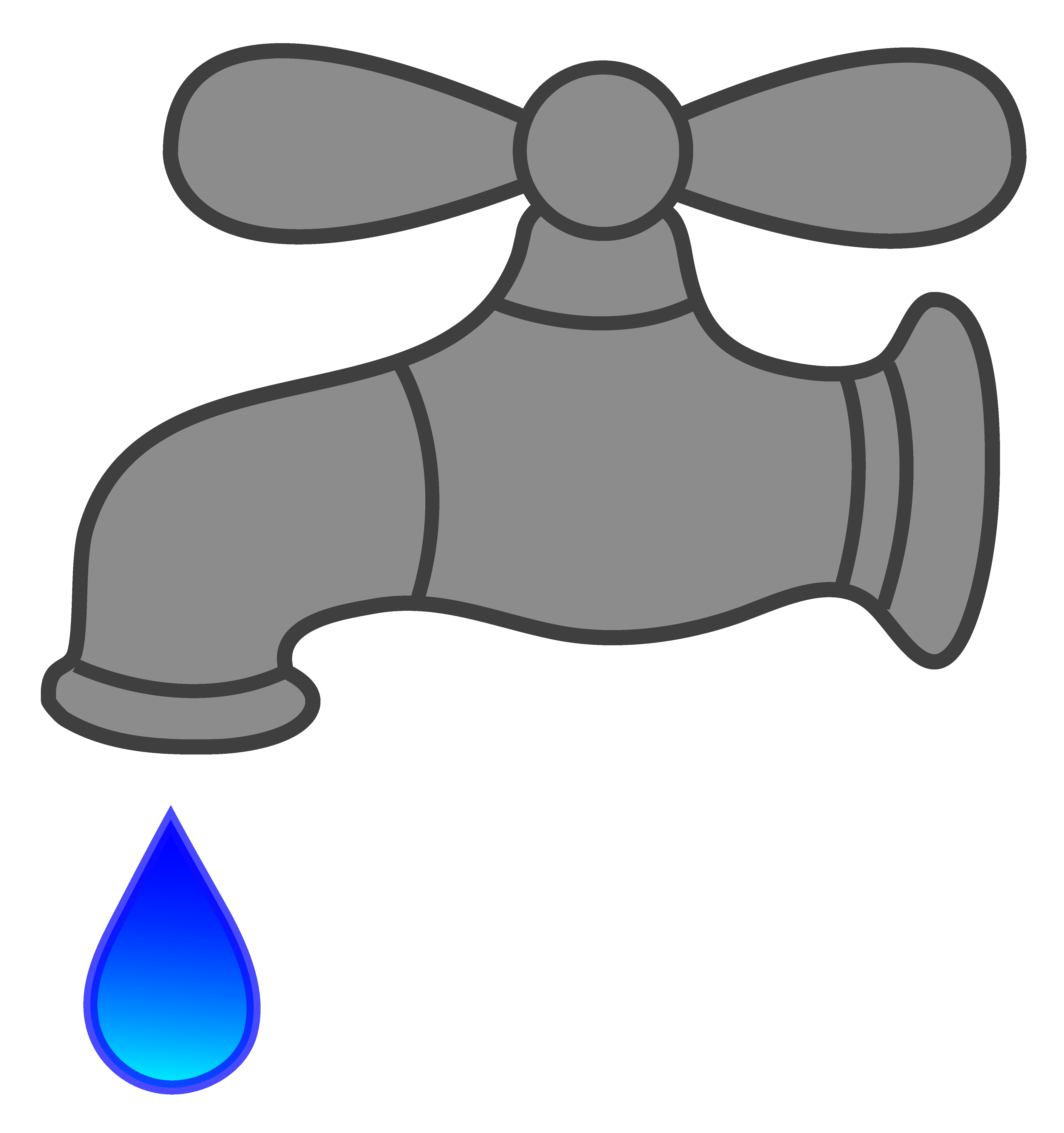 Faucet clipart. Water dripping free clip