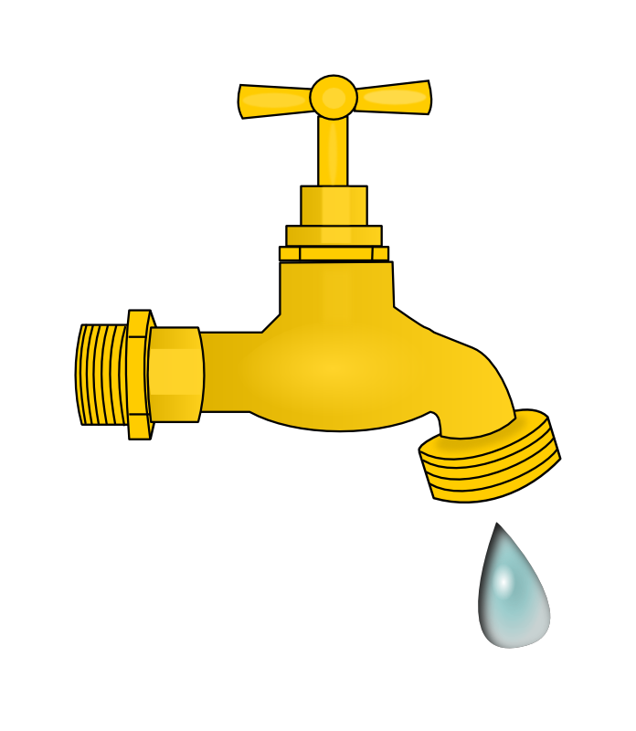 Faucet clipart kitchen faucet. Free faucets cliparts download