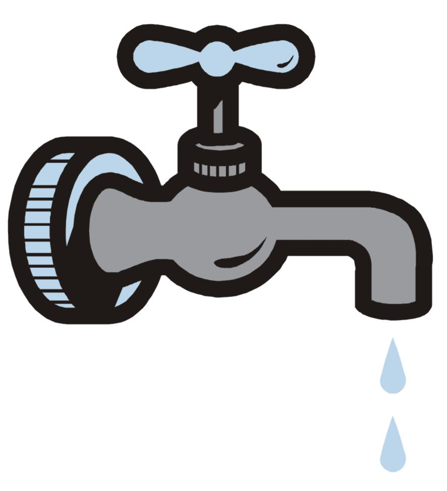 Faucet clipart water spout. Awesome dripping component sink