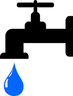 Faucet clipart water treatment. Is tap safe to